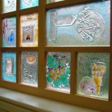 Safety Glass to Protect Feature Window