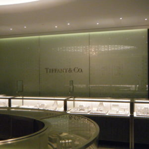 Tiffany Selfridges Manchester