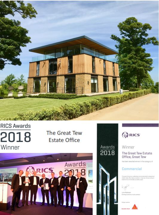 RICS Awards 2018 Winner: The Great Tew Estate Office